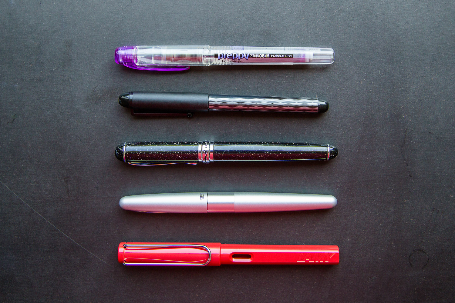 Brian's Top 5 Fountain Pens for Newbies