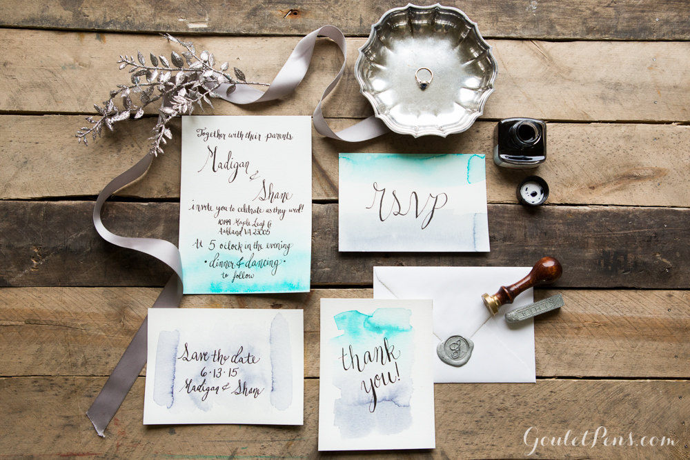 How To DIY Wedding Invitations Goulet Pens Blog