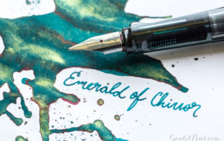 Ink Review - J Herbin Emerald of Chivor