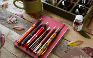 Fall in Love with 12 Ink and Pen Pairings