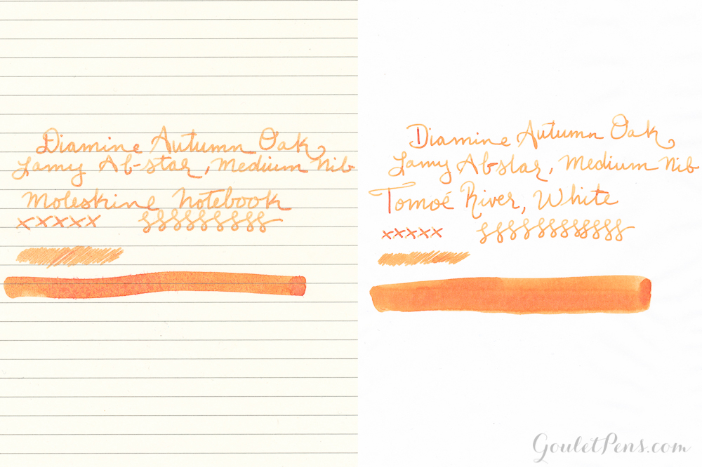 Diamine Autumn Oak: Ink Review