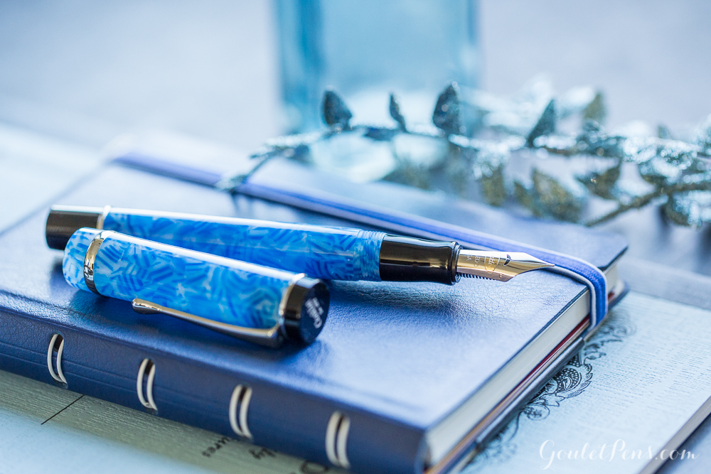 Introducing the Conklin Duragraph in Ice Blue
