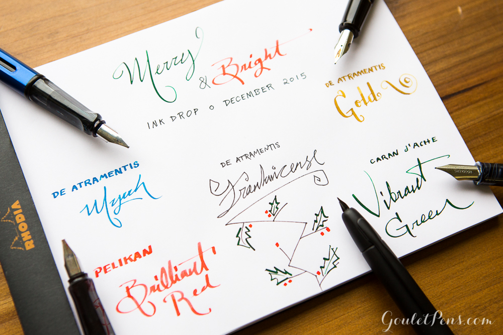 December Ink Drop Reveal: Merry & Bright
