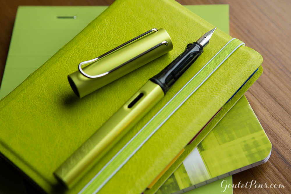 The Lamy Al-Star special edition color for 2016 will be Charged Green!