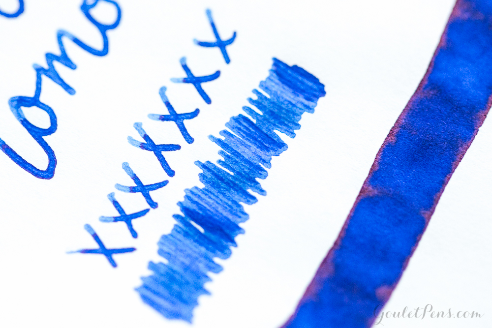Visconti Blue: Ink Review