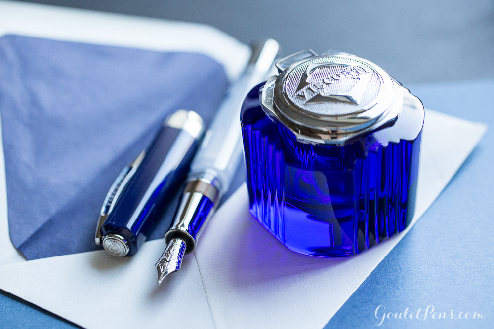 Visconti Opera Master Blue Swirls Limited Edition