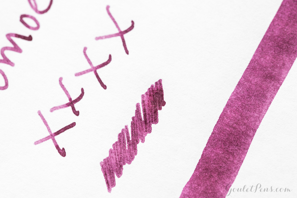 Noodler's Black Swan in Australian Roses: Ink Review