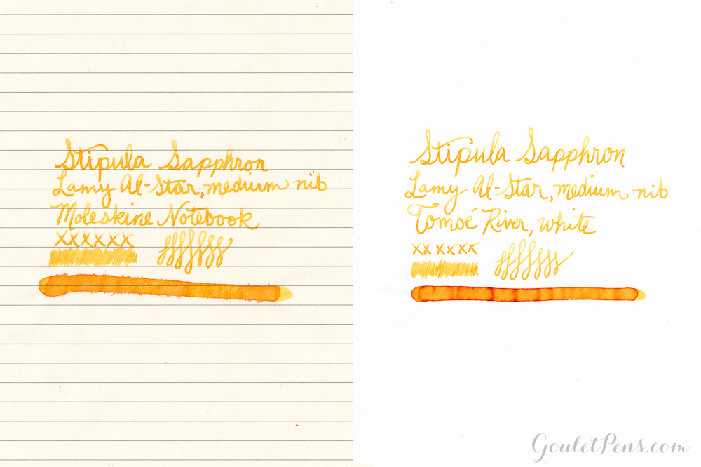 Stipula Sapphron: Ink Review