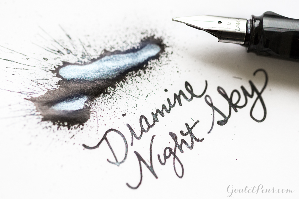 Diamine Night Sky: Ink Review