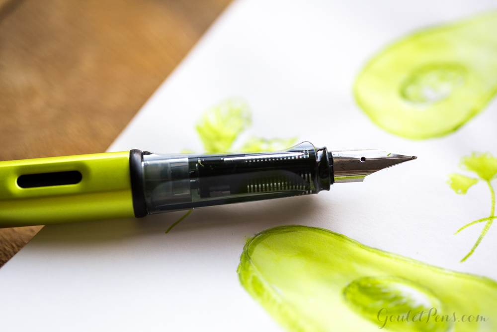 Lamy Charged Green Cartridges with Lamy Charged Green Al-Star: Monday Matchup #82