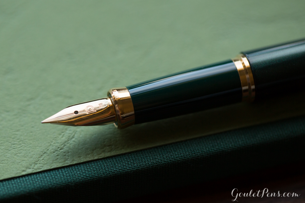Platinum Balance Green fountain pen