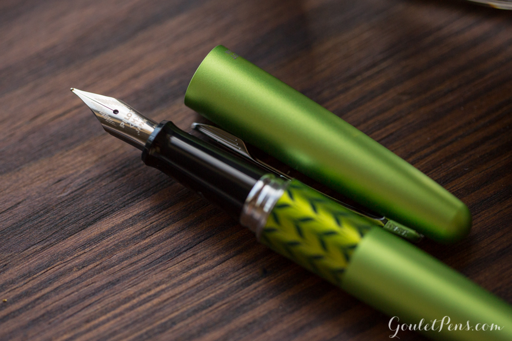 Pilot Metropolitan Retro Pop Green fountain pen