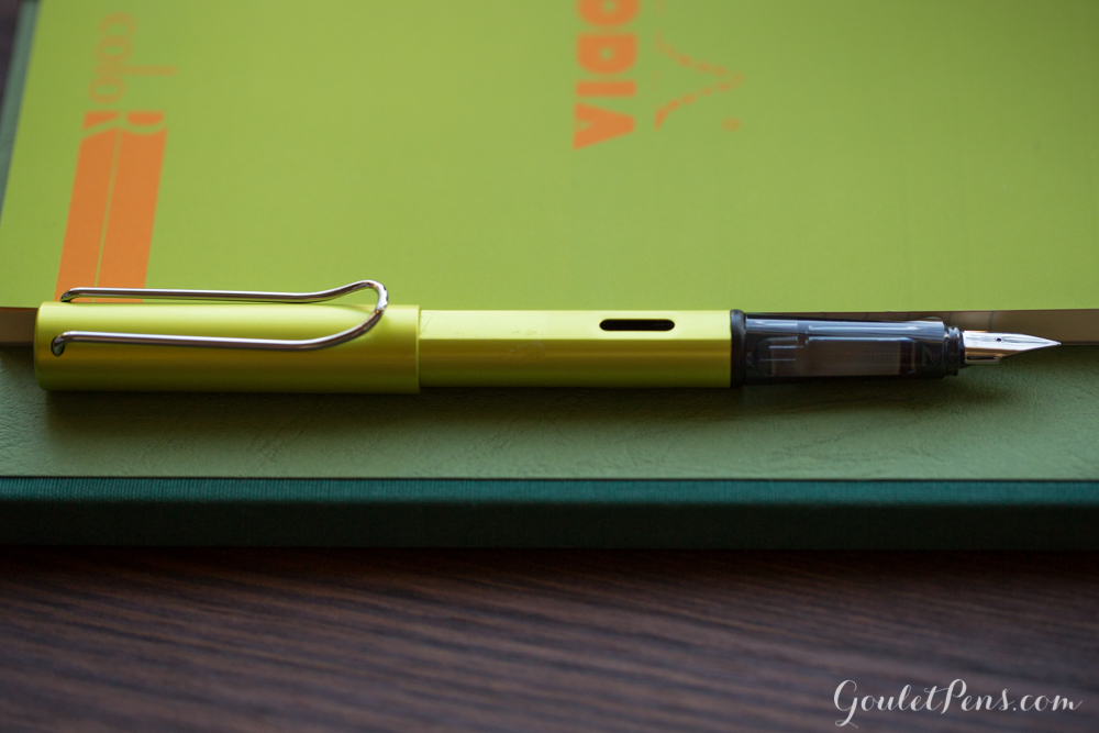 Lamy Al-Star Charged Green fountain pen