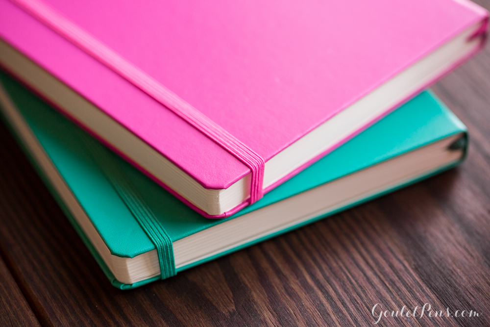 New Pink and Emerald Leuchtturm hardcover notebooks