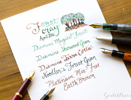 April Ink Drop Reveal: Forest Foray