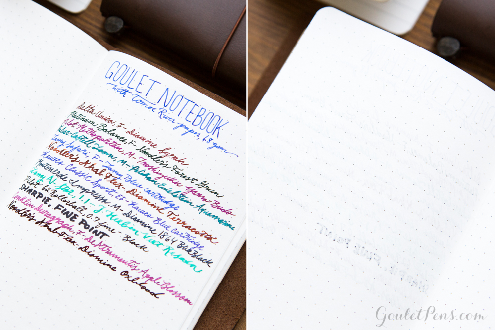 Goulet Notebooks with ...