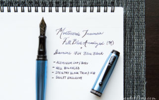 Monteverde Invincia Full Blue Giveaway Annoucement