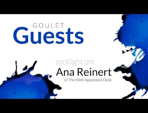 Goulet Guests: Spotlight on Ana Reinert of The Well Appointed Desk