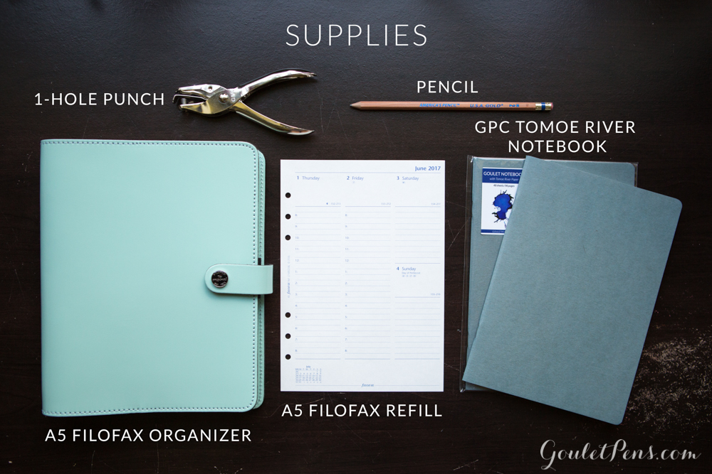 How To Turn Your Filofax Into A Bullet Journal Goulet Pens Blog