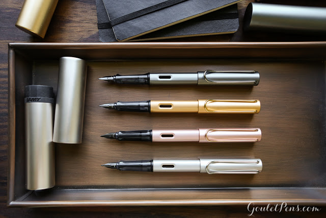 Lamy LX - All 4 Colors