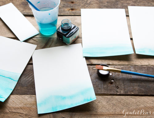 How to Make an Ink Wash