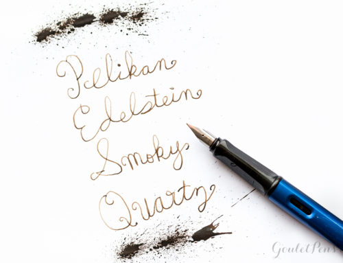 Pelikan Edelstein Smoky Quartz: Ink Review