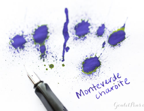 Monteverde Charoite: Ink Review