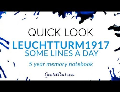 Leuchtturm1917 Some Lines A Day 5 Year Memory Notebook: Quick Look