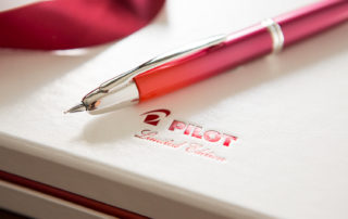 Pen Review - Pilot Vanishing Point Crimson Sunrise