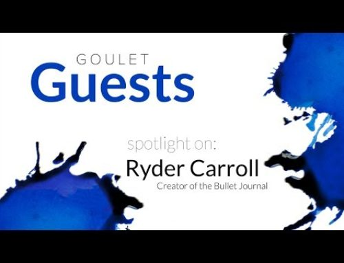 Goulet Guests: Spotlight on Ryder Carroll, Creator of the Bullet Journal