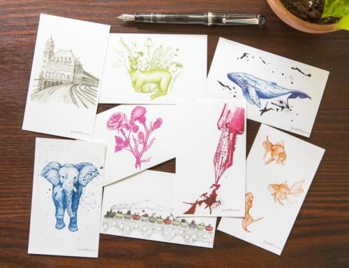 Introducing Goulet Note Cards!