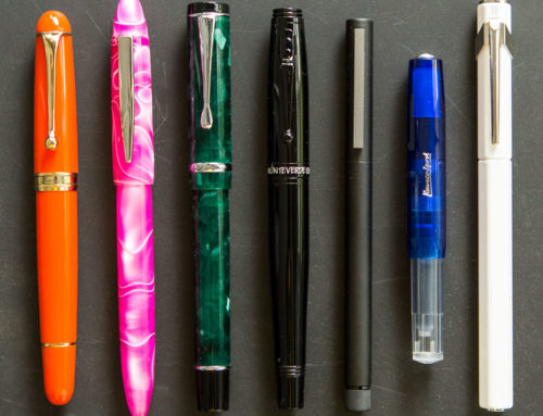 What Shapes Do Fountain Pens Come In?