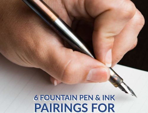 For Lefties, By Lefties: 6 Fountain Pen and Ink Pairings for Left-Handed Writers