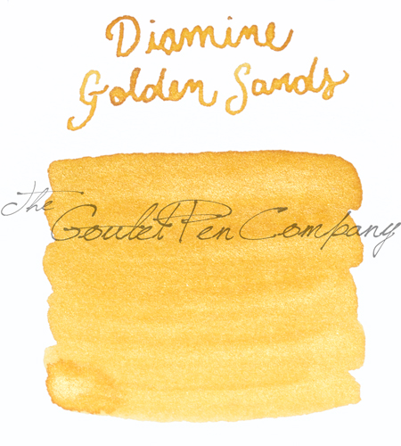 Diamine Golden Sands ink