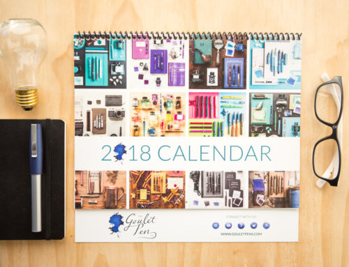 Introducing the Goulet Fountain Pen Calendar!