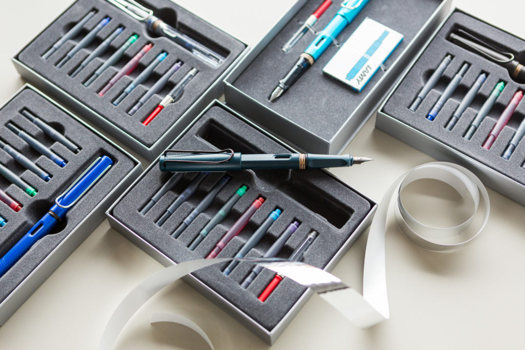 Lamy Gift Set with ink cartridges.