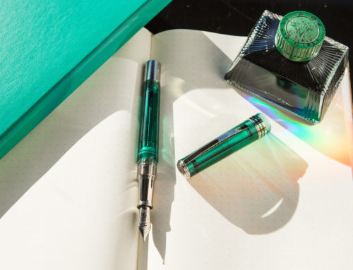 Introducing Two New Visconti Pens: Northern Lights Teal and Homo Sapiens Jade