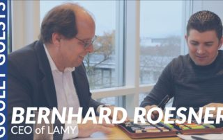 Goulet Guests - Bernhard Roesner, CEO of LAMY