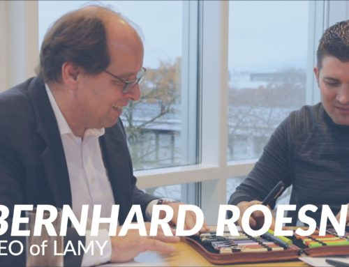 Goulet Guests: Bernhard Roesner, CEO of LAMY