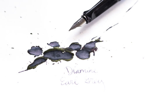 Diamine Earl Grey: Ink Review