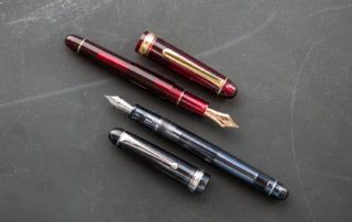 Pen Battle -Platinum 3776 vs Pilot Custom 74