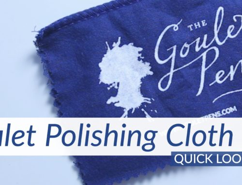 Goulet Polishing Cloth: Quick Look