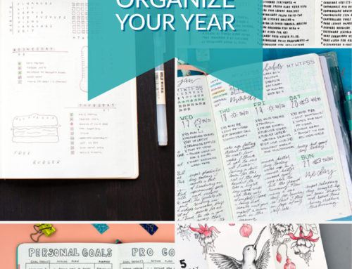 12 Bullet Journal Layouts to Help Organize Your Year