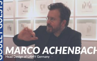 Goulet Guests - Marco Achenbach, Head of Design of LAMY Germany