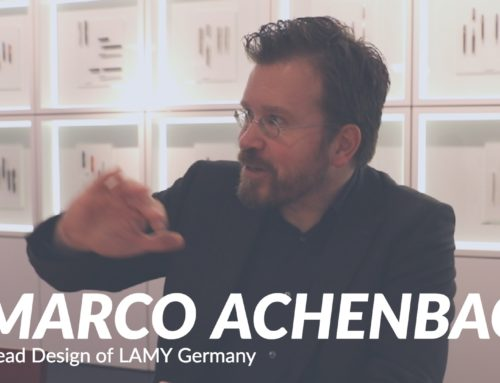 Goulet Guests: Marco Achenbach, Head of Product Management/R&D at LAMY