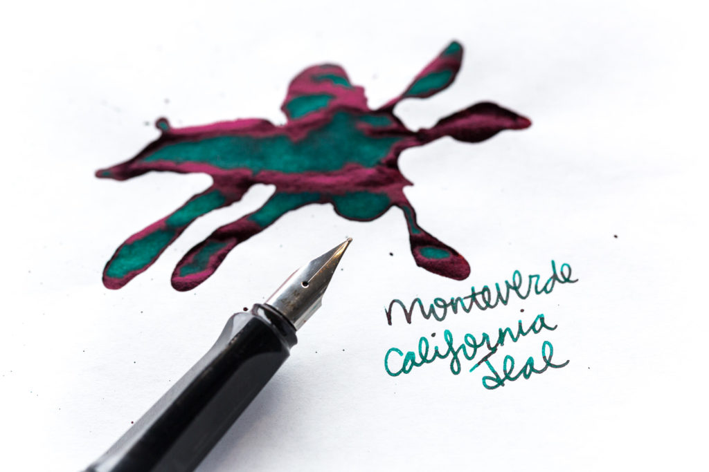 Monteverde California Teal Ink Review