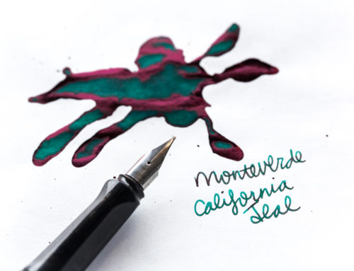 Monteverde California Teal: Ink Review