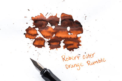 Robert Oster Orange Rumble Ink Review