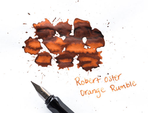 Robert Oster Orange Rumble: Ink Review