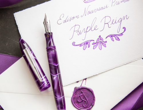 Introducing Purple Reign, The Edison Nouveau Premiere Spring 2018 Special Edition Fountain Pen